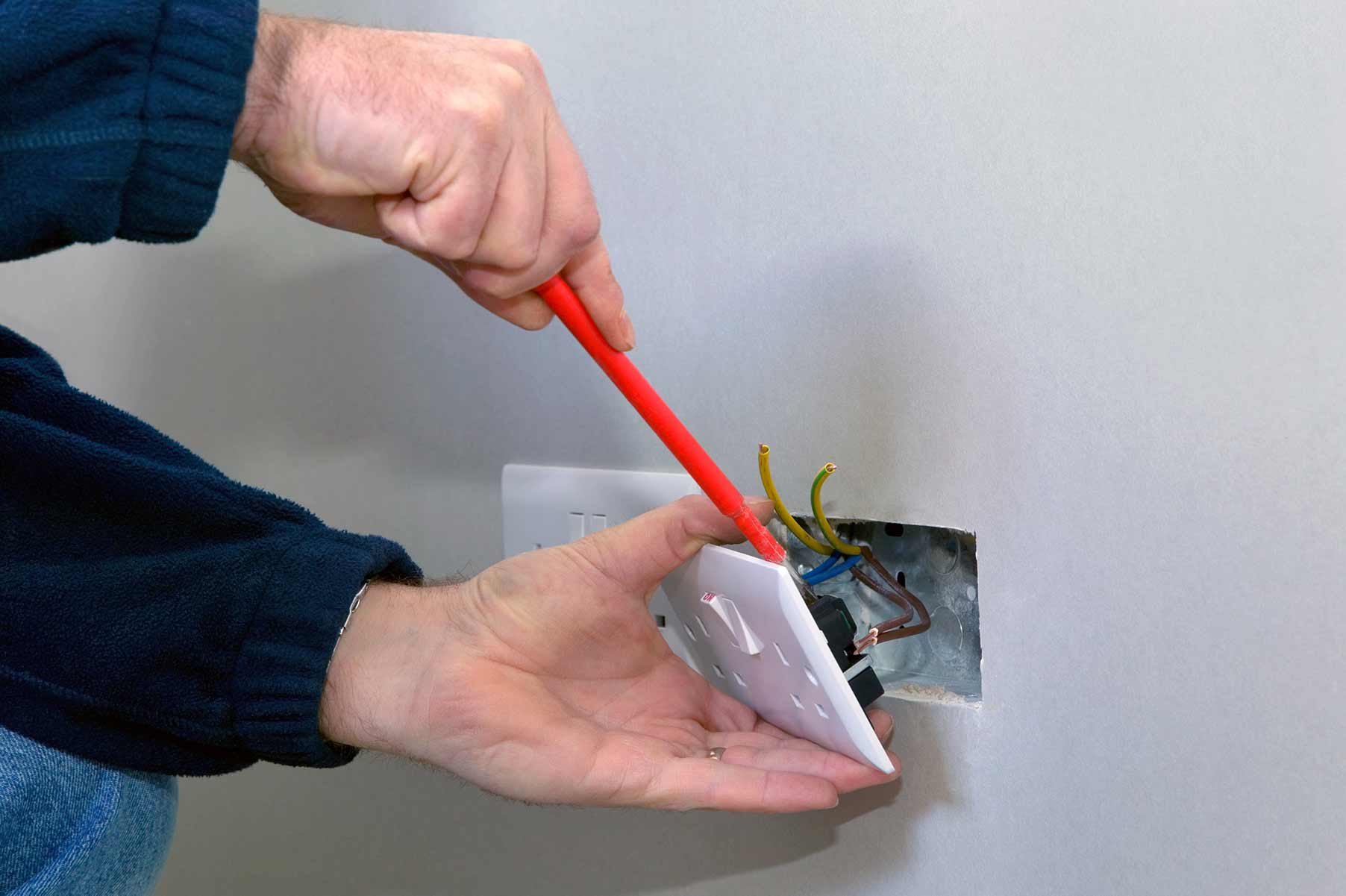 Our electricians can install plug sockets for domestic and commercial proeprties in Southfields and the local area.